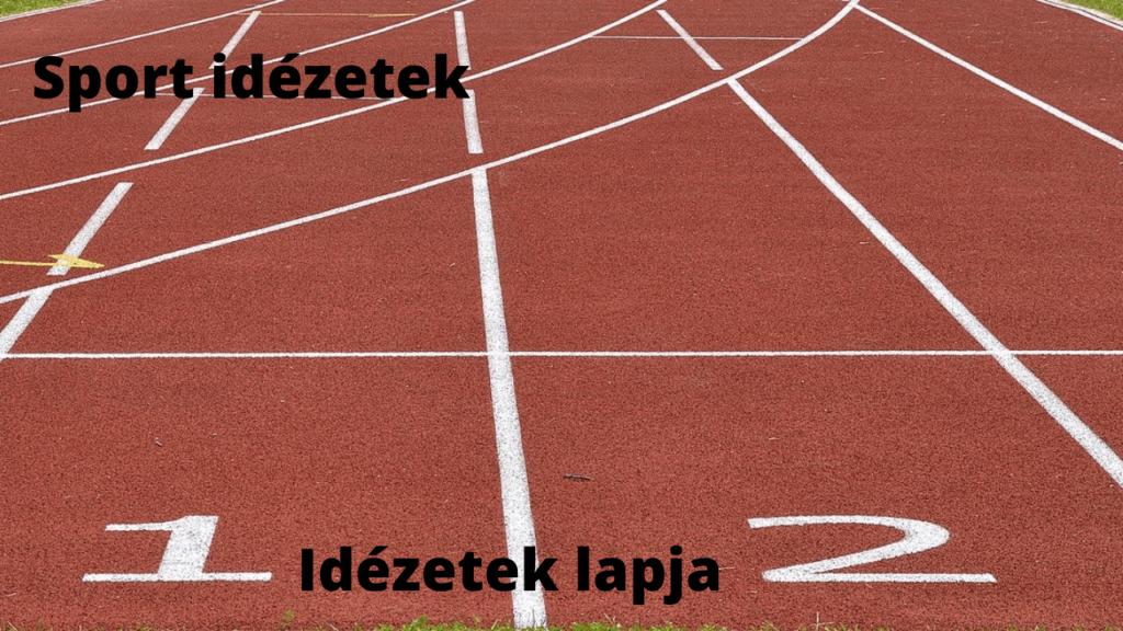 Sport idézetek