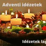 Adventi idézetek