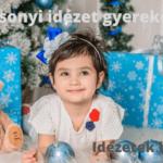 Karácsonyi idézet gyerekeknek