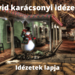 Rövid karácsonyi idézetek