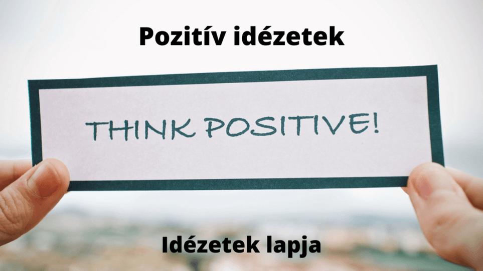 Pozitív idézetek