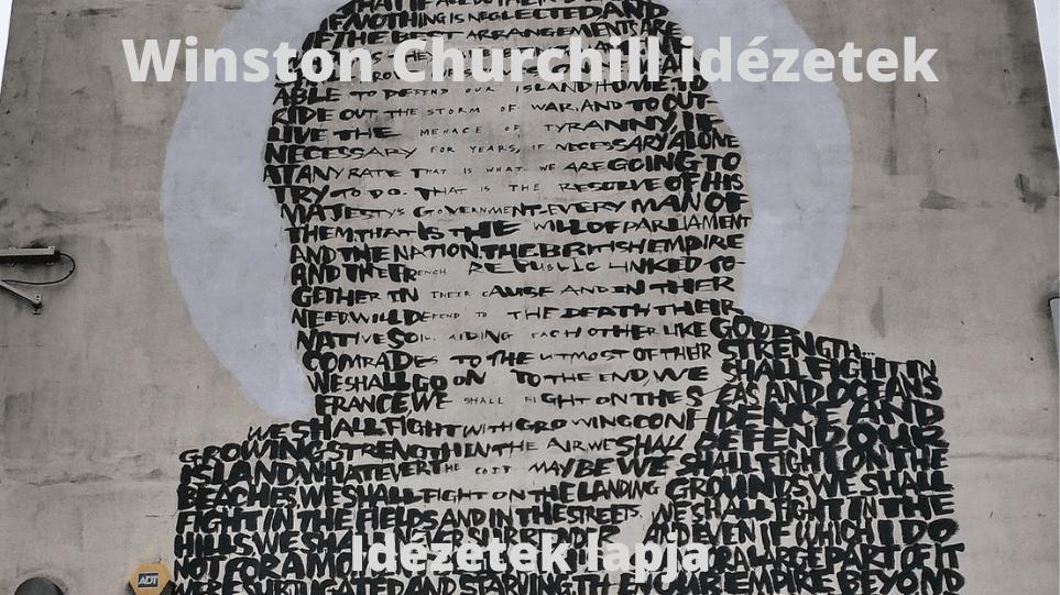 Winston Churchill idézetek