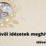 Esküvői idézetek meghívóra